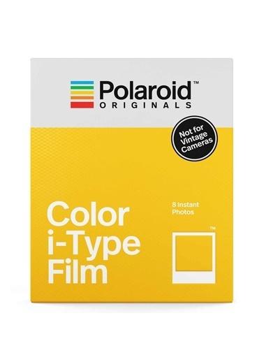 Polaroid Polaroid Color I-Type Uyumlu 8'Li Film Renkli